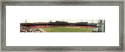 Fenway Park - Early Version Framed Print by David Bearden