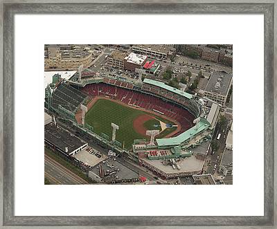 Fenway Park Framed Print by Joshua House