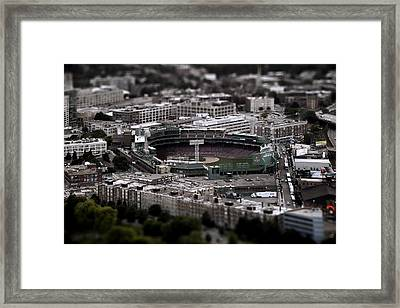 Fenway Park Framed Print by Tim Perry