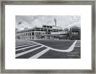 Fenway Park V Framed Print by Clarence Holmes