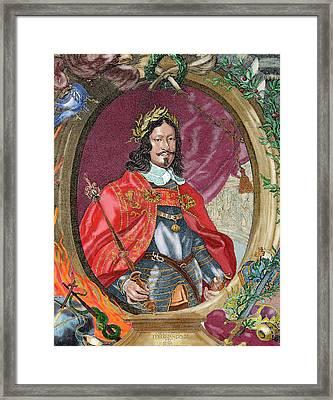 Ferdinand IIi (1608-1657 Framed Print by Prisma Archivo