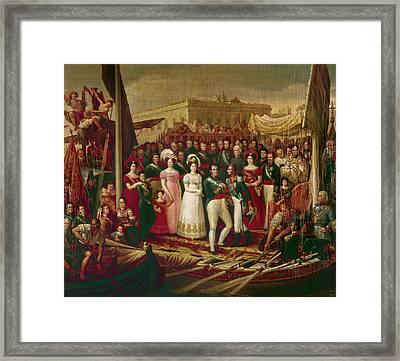 Ferdinand Vii Of Spain(1784-1833) Framed Print by Granger