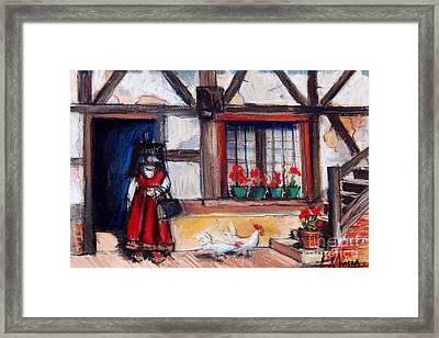 Ferme Bressane Framed Print by Mona Edulesco