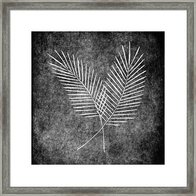 Fern Simple Framed Print by Brenda Bryant