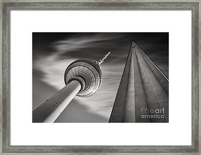 Fernsehturm Berlin Framed Print by Rod McLean