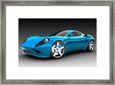 Ferrari 16 Framed Print by Lanjee Chee