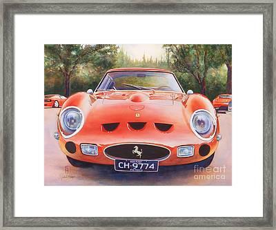 Ferrari 250 Gto Framed Print by Robert Hooper