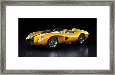 Ferrari 250 Testa Rossa - Bloom Framed Print by Marc Orphanos