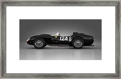 Ferrari 250 Testa Rossa - Rosette Framed Print by Marc Orphanos
