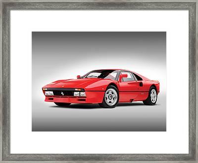 Ferrari 288 Gto Framed Print by Gianfranco Weiss