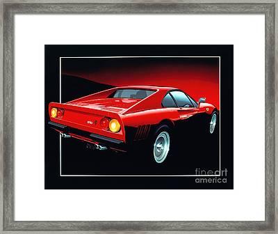 Ferrari 288 Gto  Framed Print by Gavin Macloud