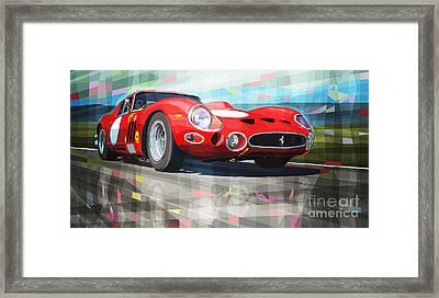 Ferrari 330 Gto 1962 Framed Print by Yuriy Shevchuk