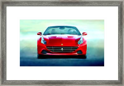 Ferrari California Framed Print by Brian Reaves