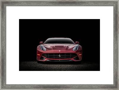 Ferrari F12 Framed Print by Douglas Pittman