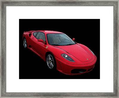 Ferrari F430 Framed Print by Samuel Sheats