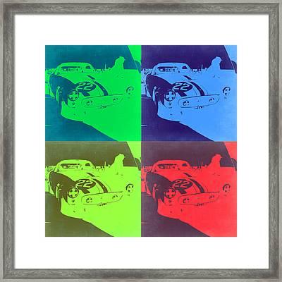 Ferrari Gto Pop Art 2 Framed Print by Naxart Studio