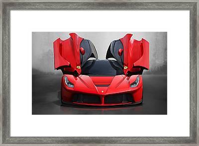 Ferrari Framed Print by Marvin Blaine