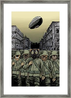 Ferret-troopers Framed Print by Jason Axtell