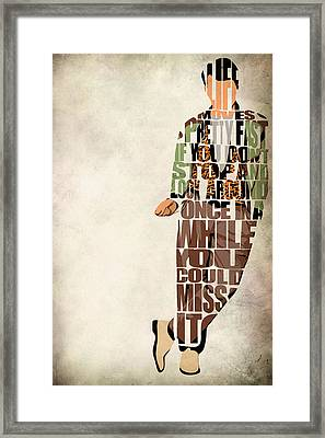 Ferris Bueller's Day Off Framed Print by Ayse Deniz