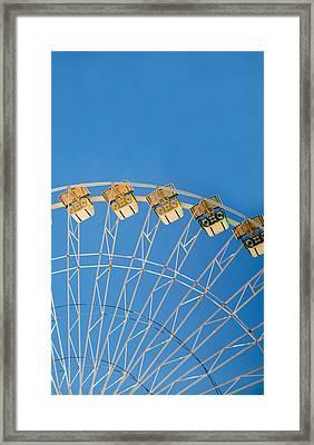 Ferris Wheel 2 Framed Print by Rebecca Cozart