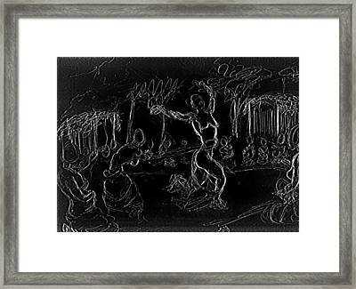 Fertility Dance Framed Print by George Harrison