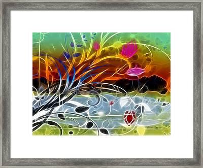 Festival Framed Print by Ann Croon