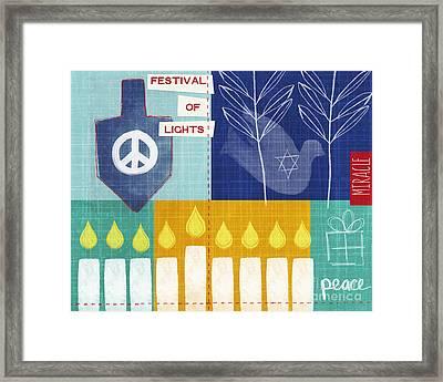 Festival Of Lights Framed Print by Linda Woods
