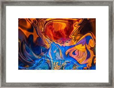 Fever Dreams Framed Print by Omaste Witkowski
