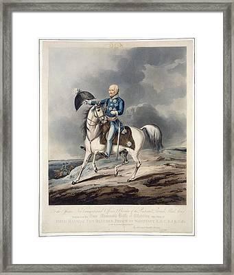 Field Marshal Von Blucher Framed Print by British Library