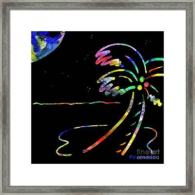 Moonglow Framed Print by Diane Thornton