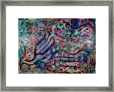 Fiesta 2 Framed Print by Gillian Pearce