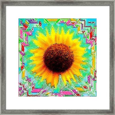 Fiesta Framed Print by Cristophers Dream Artistry