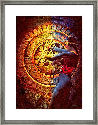 Fifteen Minutes  Framed Print by Bob Orsillo