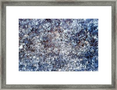 Fifty Shades Of White Framed Print by Alexander Senin