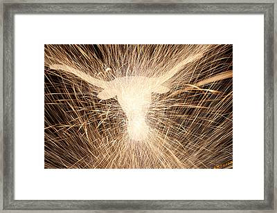 Fight Em Framed Print by Andrew Nourse