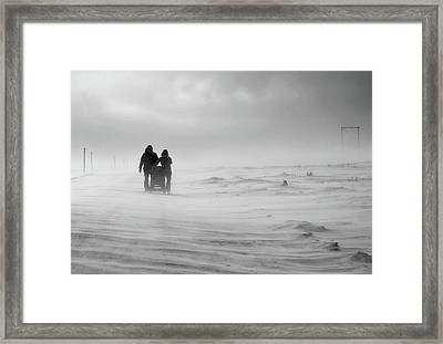 Fighting For Their Future Framed Print by Annicawesterlund