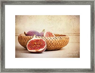 Figs Still Life Framed Print by Jane Rix