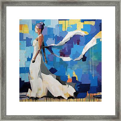 Figure I Framed Print by Julia Pappas