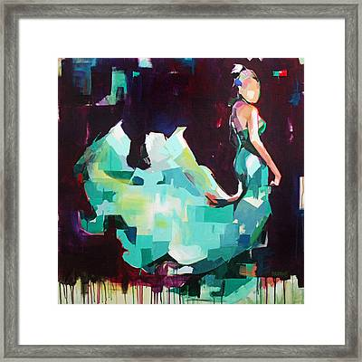 Figure II Framed Print by Julia Pappas