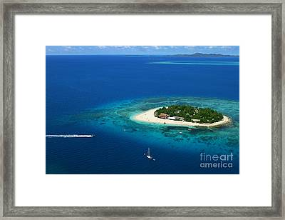 Fiji - South Pacific Paradise Framed Print by Lars Ruecker
