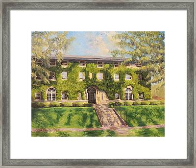 Fiji Fraternity House Purdue Framed Print by Steve Haigh