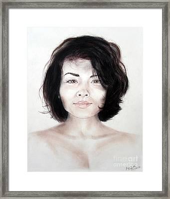 Filipina Beauty II Framed Print by Jim Fitzpatrick