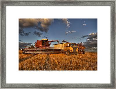 Filler Up Framed Print by Mark Kiver