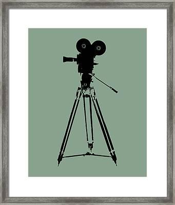 Film Camera Pop Art Framed Print by Flo Karp
