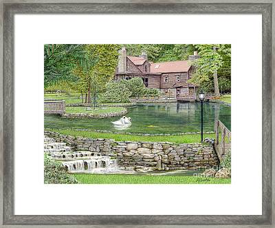 Fin N Feather At Seven Springs Framed Print by Albert Puskaric