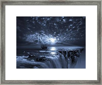 Final Frontier Voyager Framed Print by George Grie