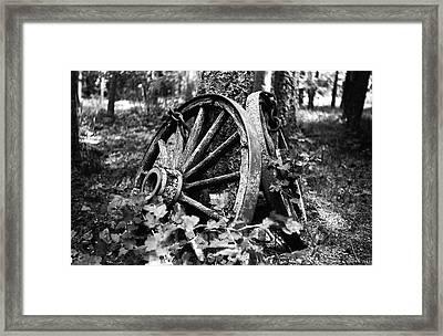 Final Rest Framed Print by Aaron Aldrich