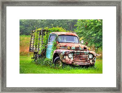 Final Resting Place - Ford Truck Framed Print by Bill Cannon