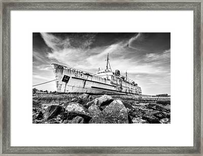 Final Voyage Framed Print by Christine Smart