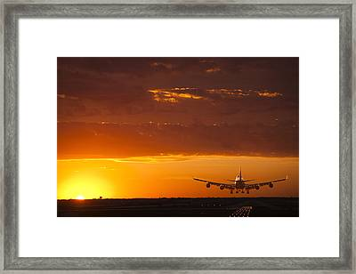 Finally Home Framed Print by Andrew Soundarajan